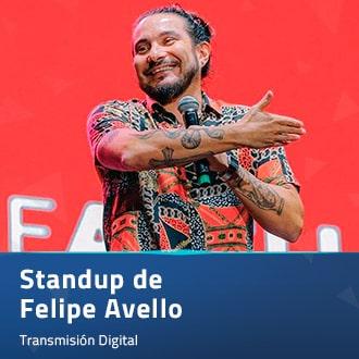 Stand Up de Felipe Avello Streaming Punto Play - Santiago