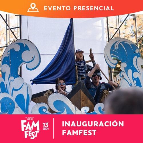 Inauguración FAMFEST13 GAM - Santiago