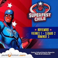 SuperFest Chile  Estación Mapocho - Santiago