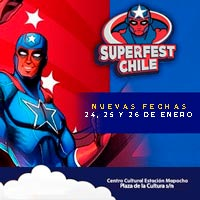 SuperFest Chile  Estación Mapocho - Santiago