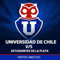 Universidad de Chile vs Estudiantes de la Plata Estadio Nacional - Santiago