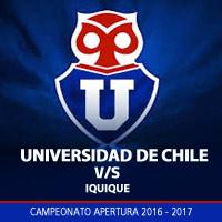 Universidad de Chile vs Iquique Estadio Nacional - Santiago