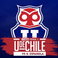 Universidad de Chile vs U. Española Estadio Nacional - Santiago
