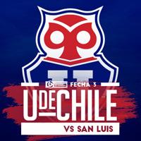 Universidad de Chile vs San Luis Estadio Nacional - Santiago
