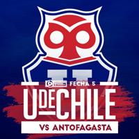 Universidad de Chile vs Antofagasta Estadio Nacional - Santiago