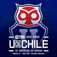 Universidad de Chile vs La Serena Estadio Nacional - Santiago