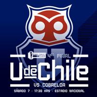 Universidad de Chile vs Cobreloa Estadio Nacional - Santiago