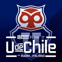 Universidad de Chile vs Audax Italiano Estadio Nacional - Santiago