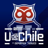 Universidad de Chile vs Temuco Estadio Nacional - Santiago