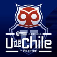 Universidad de Chile vs Palestino Estadio Nacional - Santiago
