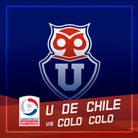 Universidad de Chile vs Colo Colo Estadio Nacional - Santiago