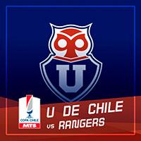 Universidad de Chile vs Rangers Estadio Nacional - Santiago