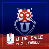 Universidad de Chile vs Deportes Temuco Estadio Nacional - Santiago