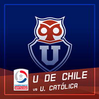 Universidad de Chile vs U. Católica Estadio Nacional - Santiago