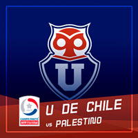 Universidad de Chile vs Palestino Estadio Nacional - Santiago