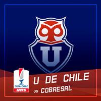 Universidad de Chile vs Cobresal Estadio Nacional - Santiago