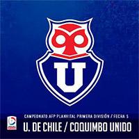 Universidad de Chile vs Coquimbo Unido Estadio Nacional - Santiago