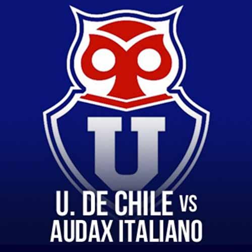 Universidad de Chile vs Audax Italiano Estadio El Teniente - Rancagua
