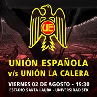 Unión Española vs. Unión La Calera Estadio Santa Laura - Universidad SEK - Santiago