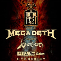 The Metal Fest 2014 Movistar Arena - Santiago