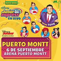 Nuevo show Capitán Topa - Disney Junior Express en Vivo Arena Puerto Montt - Puerto Montt