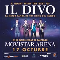 IL DIVO Movistar Arena - Santiago