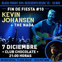 Kevin Johansen + The Nada Club Chocolate, Barrio Bellavista - Recoleta