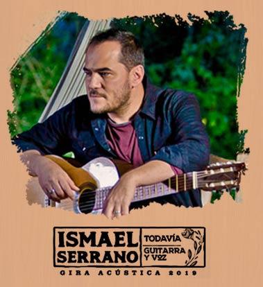 Imagen Ismael Serrano - Gira Acústica 2019