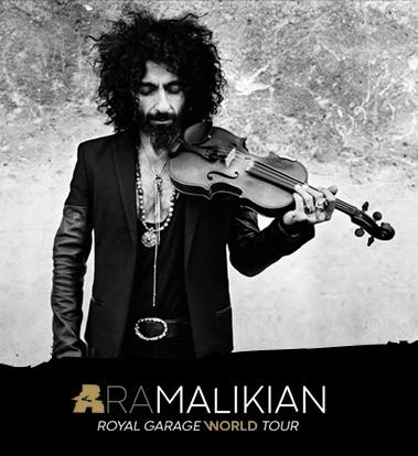 Imagen Ara Malikian - Royal Garage World Tour
