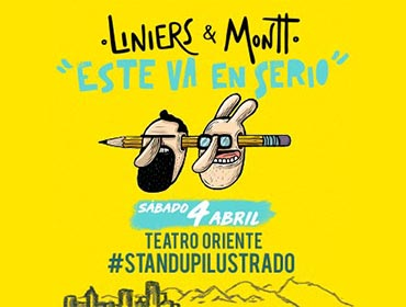"Los Ilustres - ""Este Va En Serio!"" StandUp Ilustrado"