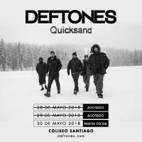 Deftones + Quicksand Teatro Coliseo - Santiago