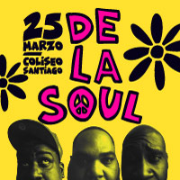 De la Soul Teatro Coliseo - Santiago