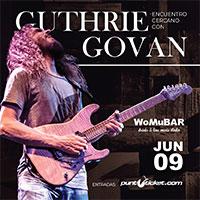 Encuentro Cercano con Guthrie Govan WoMu Bar - Quillota
