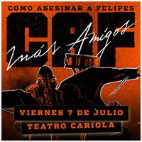CAF más Amigos Teatro Cariola - Santiago